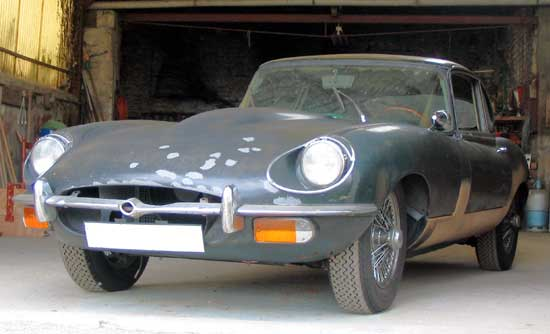 jaguar type ea vendre